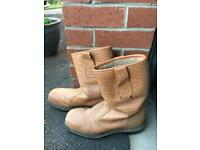 Safety Work / Rigger Boots size 7
