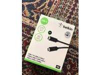 Belkin usb C 0.9M 10Gbps 4K Cable
