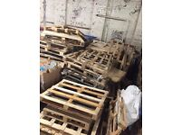FREE** 50 BROKEN PALLETS - PICK UP ONLY