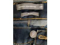 FCUK French Connection Jeans... work once, 38 Slim.
