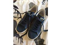 Puma suede classic trainers (women's size 5)