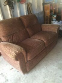 Reduced SOFA AND SINGLE RECLINER CHAIR FOR SALE