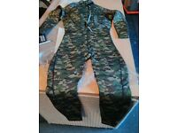 Camouflage wetsuit - NEW - Size L