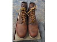 Red Wing Rover Boots UK 10D - Worn 1 hour only