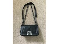 Chanel style handbag, can be worn as a shoulder bag or across the body