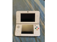 New 3DS with charger and 3 games