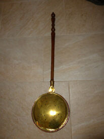 Victorian bed warming pan for sale