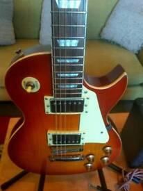 rockburn les paul guitar