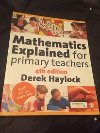 Mathematics Explained For Primary Teachers 4th Edition Derek Haylock