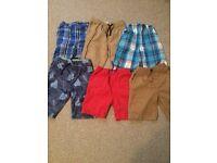 Six pair of boys shorts age 5-6