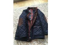 Joules Rutledge Boys Quilted Jacket Age 9-10
