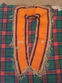 Loyal orange lodge collerette 1956