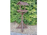 Hand made strong bird tables, 5 foot high