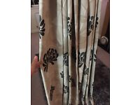 Handmade living room curtains