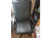 Leather computer chair is on sale............£25