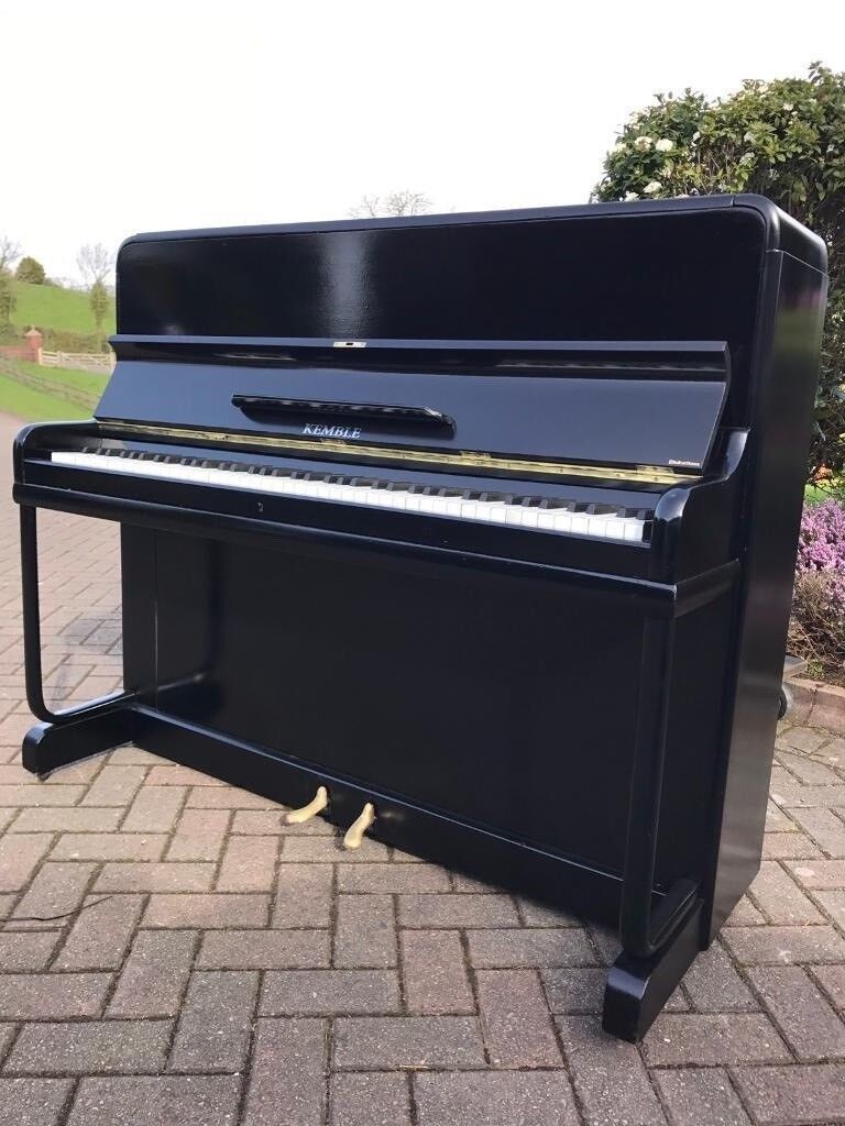 Kemble black gloss upright piano|Belfast Pianos| Free delivery|