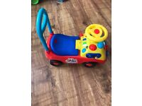 Mickey Mouse Clubhouse baby/toddler Ride On
