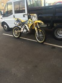 Rm125 super evo 1995 and single bike trailer
