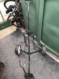 Folding Golf Trolley in vgc