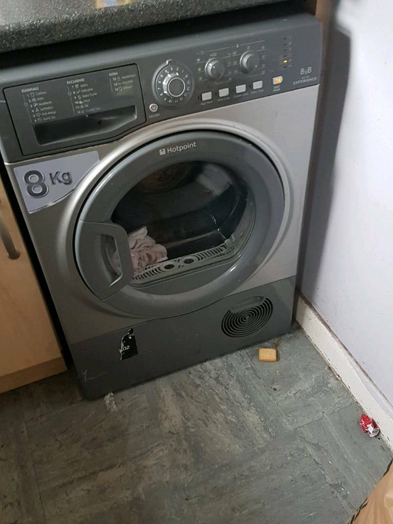 Condenser Tumble Dryerin Norwich, NorfolkGumtree - I have a silver hotpoint condenser tumble dryer want SWAP ONLY for white one or black collection only nr5