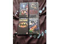 VHS video films