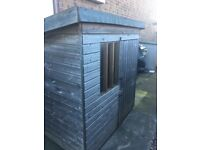 Dog kennel - outdoor large wooden with spilt doors
