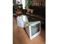 Apple eMac iMac Coffee Table Side/Occasional/Lamp Table Upcycled Recycled Repurposed