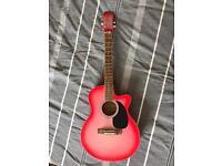 Swift Music London Sunburst Acoustic Guitar