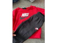 Nike long sleeve set