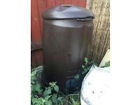 Brown Composter Bin