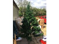 7ft tall high quality artificial Christmas tree