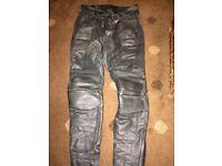 TT Leathers Intermational motorbike trousers