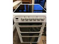 Hotpoint ultima 50cm electric cooker RRP £400 **LIKE NEW**
