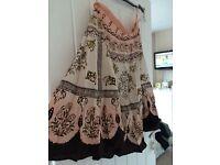 Lipsy sequined skirt