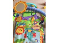 Fisher Price baby play gym with piano keyboard