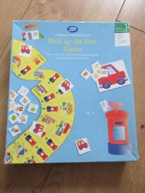 PASS THE POST GAME age 4+ from Boots - with instructions - IMMACULATE - suit boy or girl
