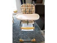 Used joie mimzy snacker highchair