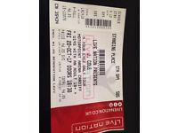 j. cole ticket cardiff motorpoint arena