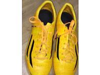 Adidas adizero football boots UK size 4 - VGC