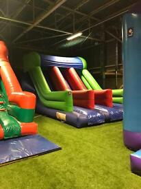 Airquee Double Slide Bouncy Castle