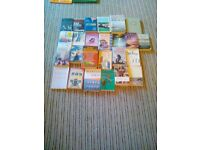 25 fiction books. Whole lot for £5