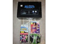 Nintendo Wii Console with Wii Sports Resort & Motion Plus Controller + Zumba World Party with Belt