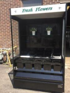 Refrigerated  Flower Show  Case