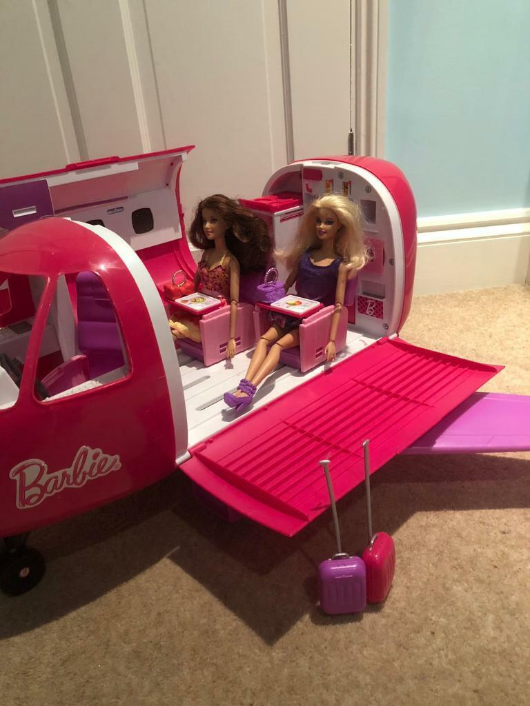 Barbie Airplane Jet Plane | in Coulsdon, London | Gumtree on barbie friendship plane, barbie bus, barbie screaming, barbie food, barbie train, barbie toys, barbie car, barbie plane target, barbie boat, barbie mobile phone, barbie glamour shots, barbie house, barbie ball, barbie motorcycle, barbie airplane ebay, barbie pilot, barbie air plane, barbie dreamhouse, barbie airplane 1970s,