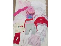 Used - Girls 3-6 Months Bundle Of Clothes