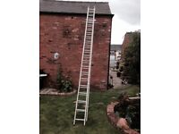 Vary large double ladders