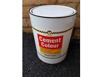 Cement colour dyes