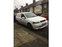 Vauxhall Astra van 1.6 PETROL modified. Not caddy,combo,vxr,
