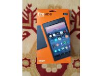 Amazon Fire HD 8 Tablet - Brand New & Sealed
