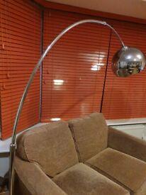 Beautiful arching floor lamp